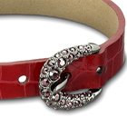 Buckle Bis Red Bracelet