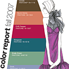 PANTONE Unveils Fashion Color Report Fall 2007