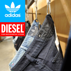 adidas Originals Spring/Summer 2008: Introducing Originals Denim by Diesel & Presenting the Atelier Retail Concept