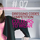 Dressing Codes Competition #7: Colors to Wear