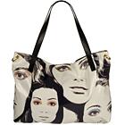 Polly Glazed Canvas Handbag by Jimmy Choo