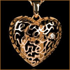 Gild Your Love on Valentine's Day with the Coeur B Pendant