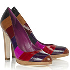 Colors of Sergio Rossi Color Block Pumps