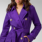 Twill Trench Coat by Sean John