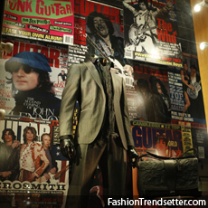 John Varvatos Celebrates 30 Years of Guitar World with Boutique Window Displays