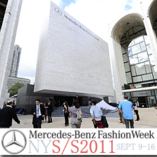 Mercedes-Benz Fashion Week Kicks Off at Lincoln Center
