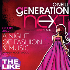 "O'Neill's 3rd Annual ""Generation Next"" Fashion and Music Event"