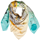 Forget Me Not: XXL Scarves by Coco