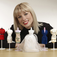 Fashion Designer Creates Kate Middleton's Prediction of the Wedding Dress for Mini Mannequinns
