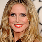 Heidi Klum Rocked the Red Carpet at the 2011 Golden Globes