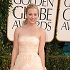 Kaley Cuoco Style at the 68th Annual Golden Globe Awards