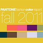Pantone Fashion Color Report Fall 2011
