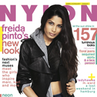 NYLON April Anniversary Issue Featuring Freida Pinto