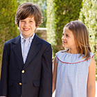 The Debut Oscar de la Renta Childrenswear Collection for Spring 2012