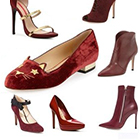 Pantone Color of the Year for 2015: PANTONE 18-1438 Marsala on Fashion Shoes & Boots