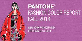 Pantone Fashion Color Report Fall 2014
