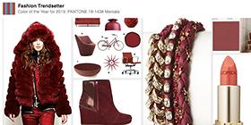 Pantone Color of the Year for 2015: PANTONE 18-1438 Marsala Pinterest Board