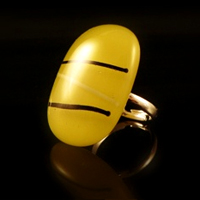 Love Lust Yellow Ring
