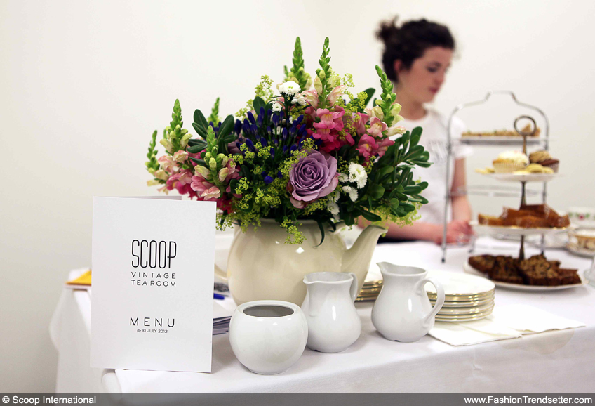 Vintage Tea Room at Scoop International - Photo courtesy of Scoop International - scoop-international.com.