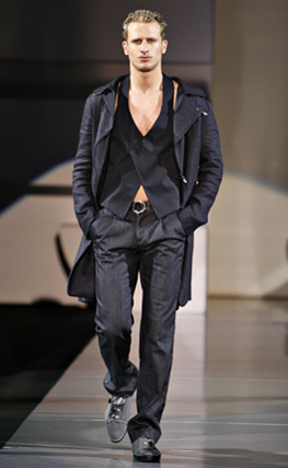 Emporio Armani Men's Collection Spring/Summer 2009 | Page 4 | Fashion Trendsetter