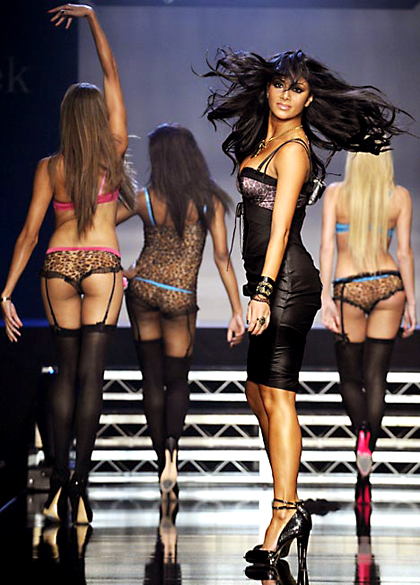 Nicole Scherzinger of the Pussycat Dolls