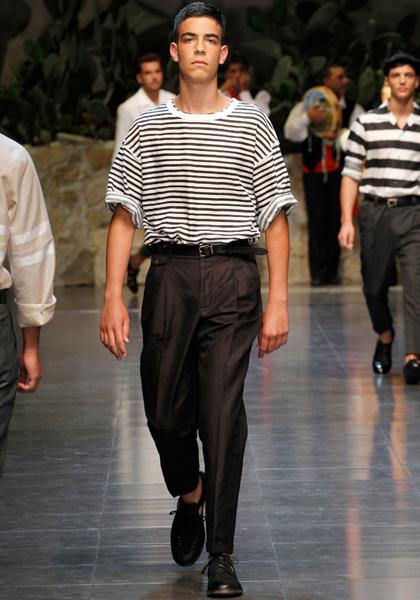 Dolce&Gabbana Menswear Spring/Summer 2013