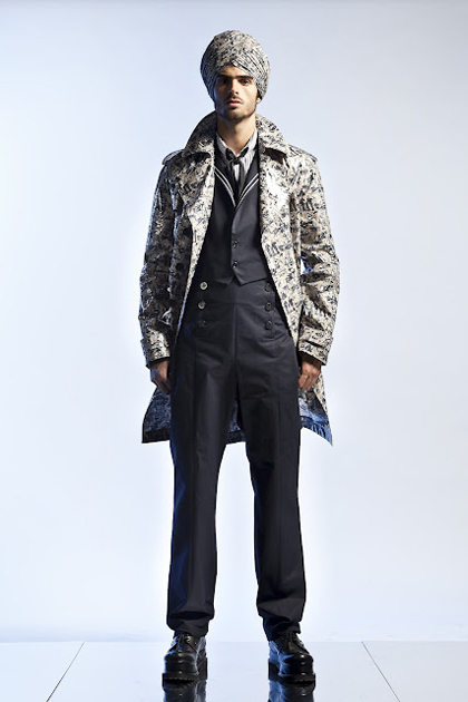 Jean Paul Gaultier Menswear Spring/Summer 2013: Narrating Passages to India