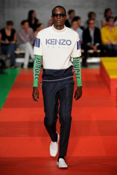 Kenzo Menswear Spring/Summer 2013