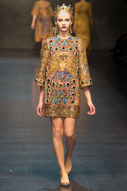 Milan Fashion Week Autumn/Winter 2013 Coverage: Dolce & Gabbana