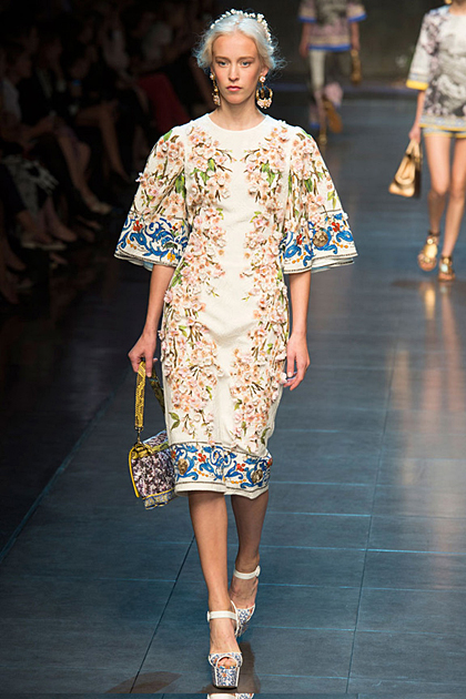 Milan Fashion Week Spring/Summer 2014 Coverage: Dolce & Gabbana