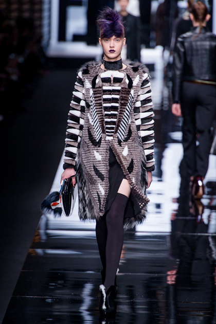 Milan Fashion Week Autumn/Winter 2013 Coverage: Fendi