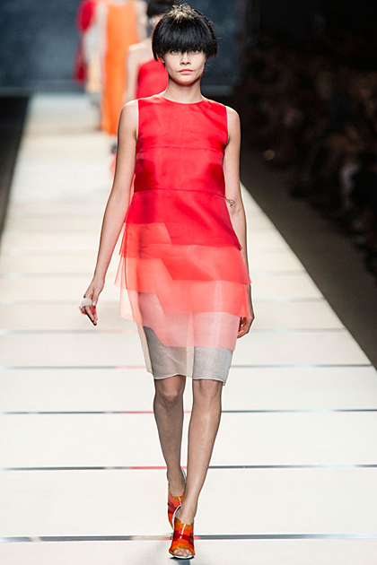 Milan Fashion Week Spring/Summer 2014 Coverage: Fendi
