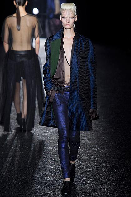 Paris Fashion Week Spring/Summer 2014 Coverage: Haider Ackermann