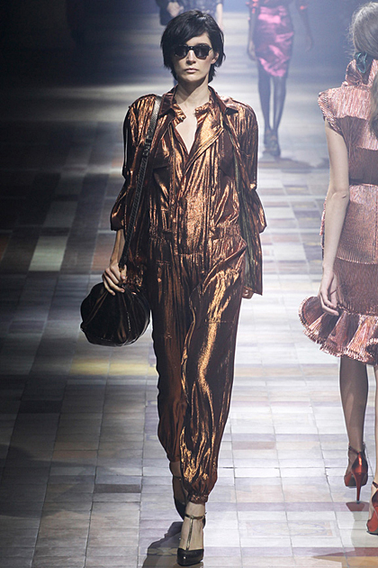 Paris Fashion Week Spring/Summer 2014 Coverage: Lanvin