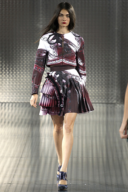 London Fashion Week Spring/Summer 2014 Coverage: Mary Katrantzou