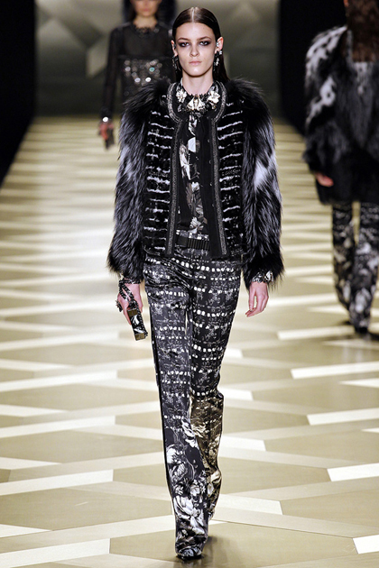 Milan Fashion Week Autumn/Winter 2013 Coverage: Roberto Cavalli