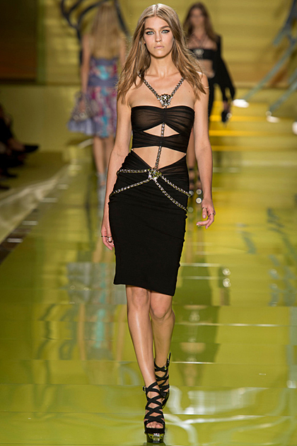Milan Fashion Week Spring/Summer 2014 Coverage: Versace