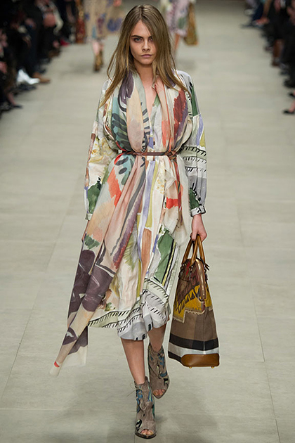 London Fashion Week Fall 2014: Burberry
