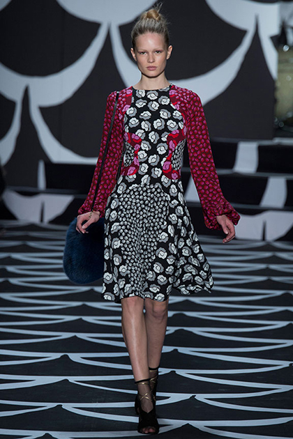New York Fashion Week Fall 2014: Diane Von Furstenberg