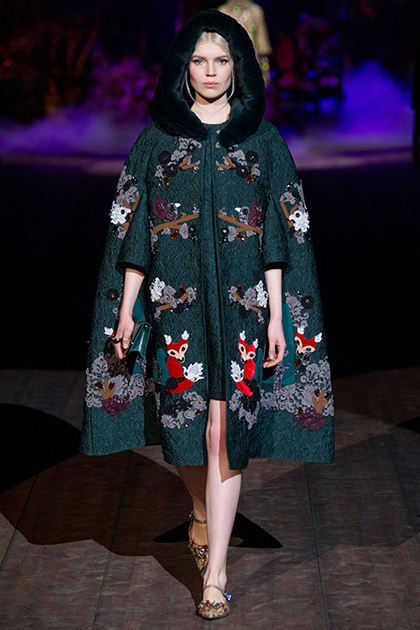 Milan Fashion Week Fall 2014: Dolce & Gabbana