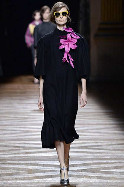 Paris Fashion Week Fall 2014: Dries Van Noten