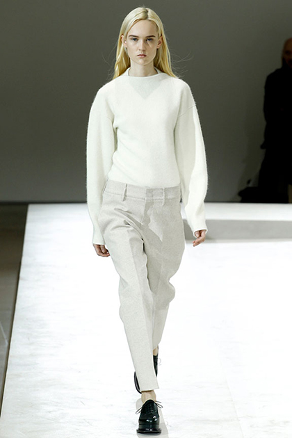 Milan Fashion Week Fall 2014: Jil Sander