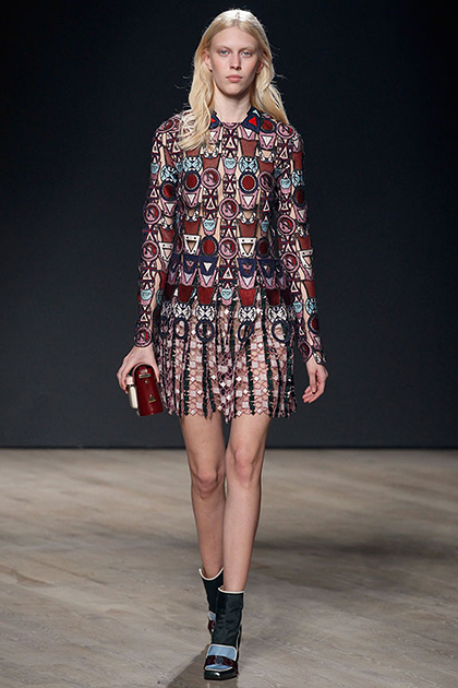 London Fashion Week Fall 2014: Mary Katrantzou