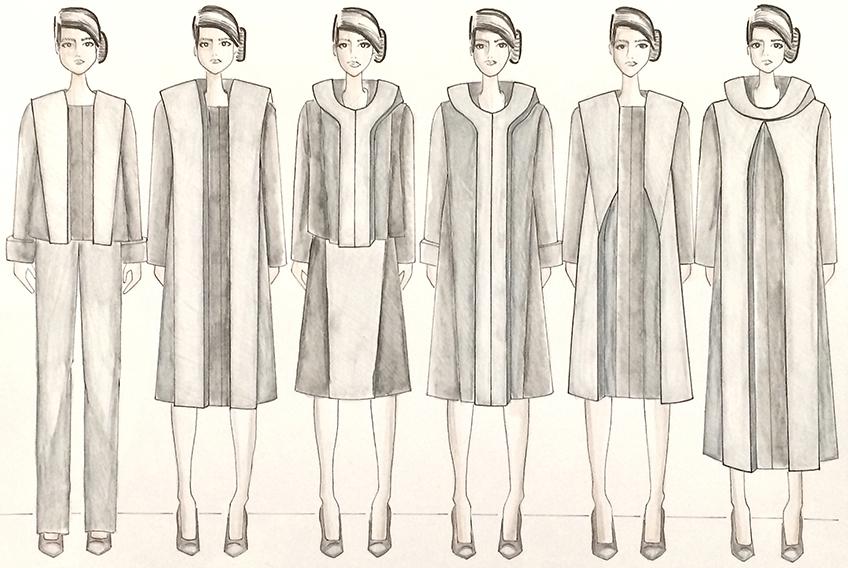AAU's School of Fashion | Christian Willman Fall 2015 Collection