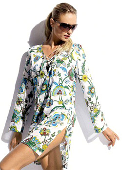 Tommy Bahama Tropical Paisley Tunic