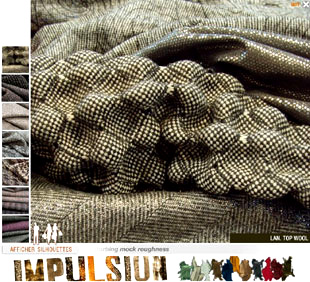 Impulsion: The « Anti-perfection » Theme in Fabrics