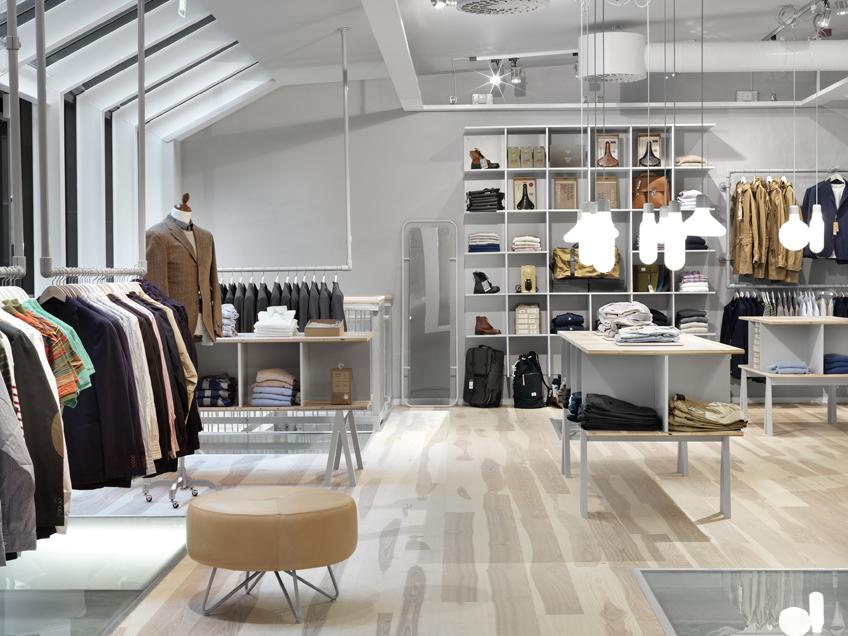 Form us with love haberdash store interior design for Best retail store design