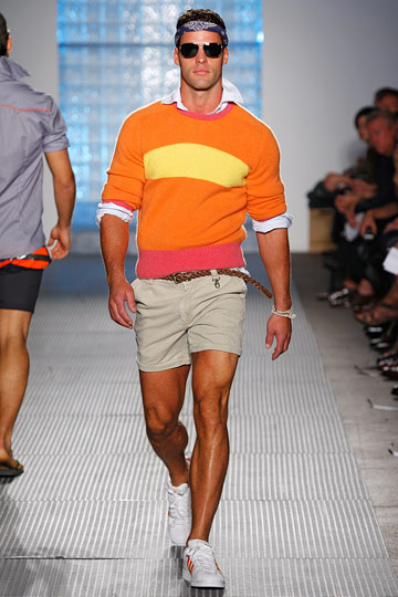 New York Or the Fashions of a Very Colorful City   Michael Bastian. Photo courtesy of worldmanabouttown.com