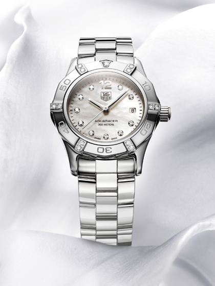 Aquaracer Diamonds: Prestigious Editions of a TAG Heuer Classic