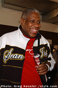 Vogue Editor Andr� Leon Talley